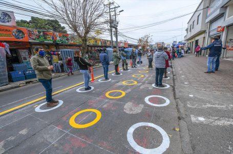 Dirección de Tránsito municipal implementó piloto de segregación física en zona céntrica de Chillán