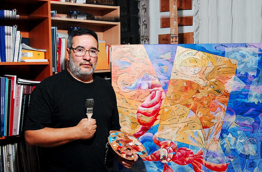 Julio Utreras Rojas: Un destacado artista local, que ha imprimido su sello cultural a nivel nacional e internacional