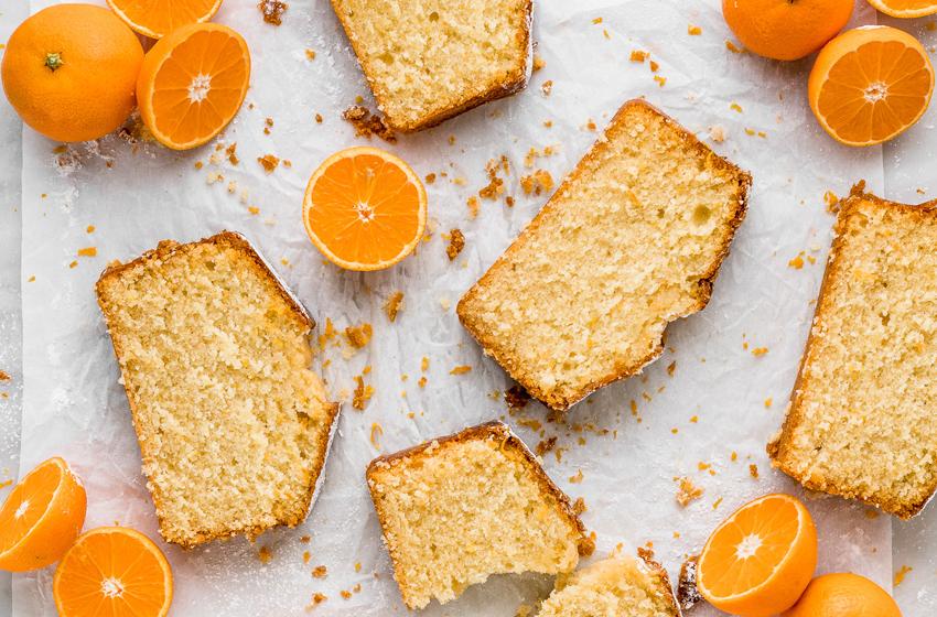 Queque de naranja
