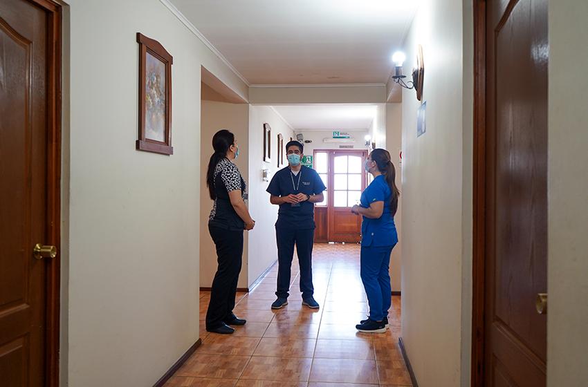 50 personas han sido atendidas en las residencias sanitarias de Ñuble