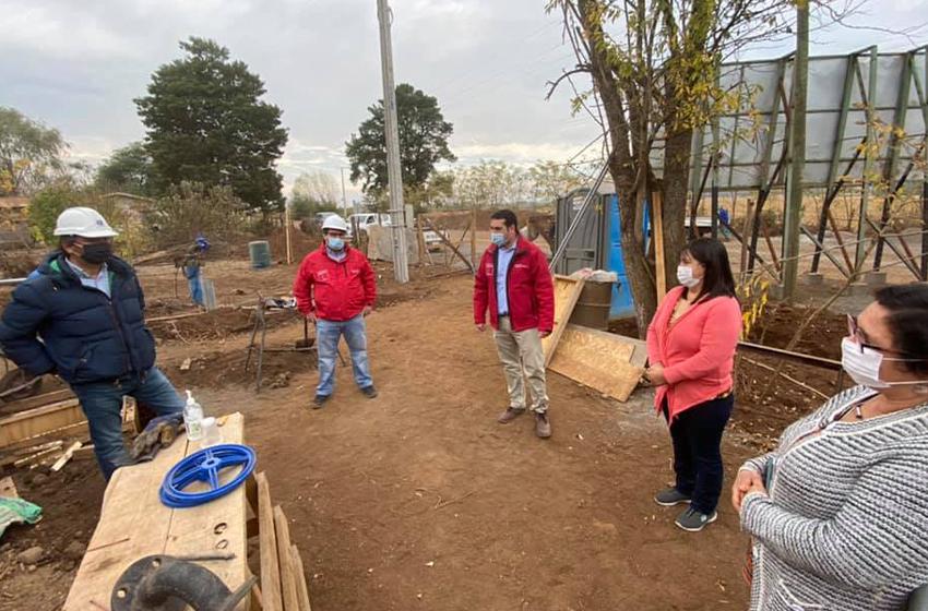 MOP Ñuble inicia mejoramiento de APR en Ñiquen, San Carlos, San Ignacio y Pemuco