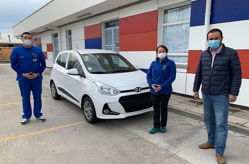 """Con nuevo """"city car"""" Cesfam Bachelet de Chillán Viejo apuesta por mejorar la atención a usuarios"""