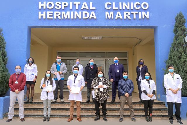 La respuesta del Hospital Clínico Herminda Martín frente a la pandemia