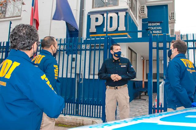 Jefe de la Región Policial de Ñuble, Prefecto inspector Marcelo Mendoza