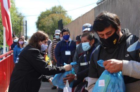Se regalaron 150 kits de higiene y sanitización a vecinos de la población Luis Cruz Martínez