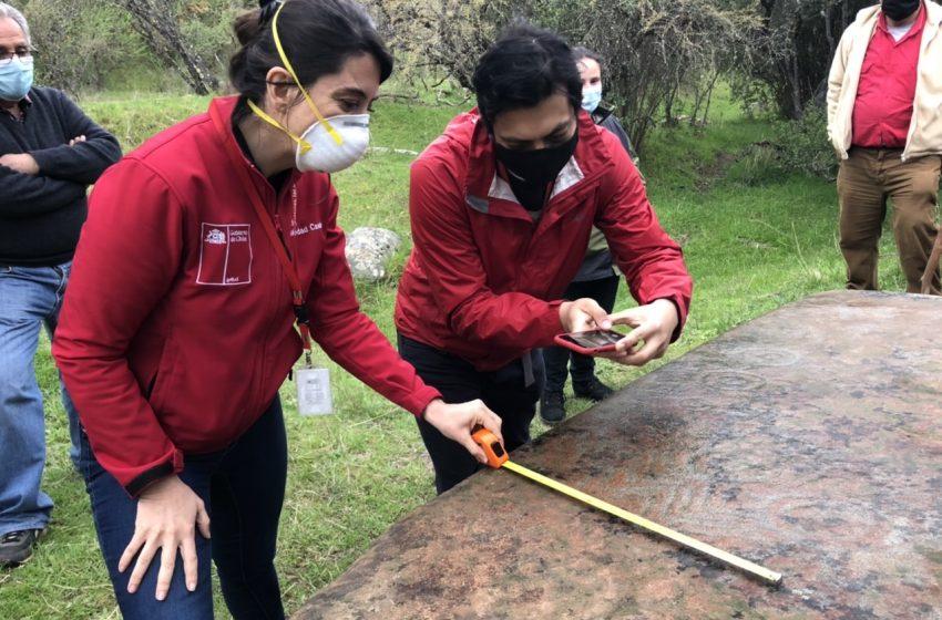 Vecinos de Ninhue encuentran petroglifos