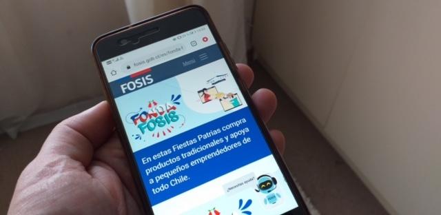 Fonda FOSIS: Emprendedores locales ofrecen sus tradicionales productos por internet