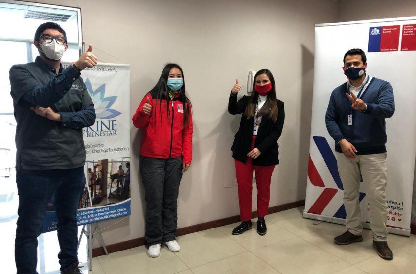 Deportistas del Team Ñuble tendrán atención kinésica gratuita
