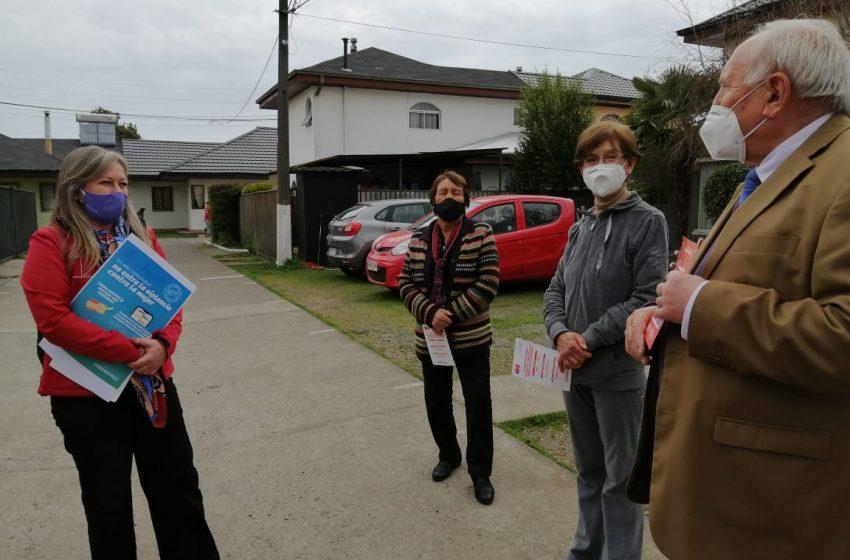 Vecinos de San Carlos le cierran la puerta a la violencia contra la mujer al sumarse a campaña enfocada en barrios