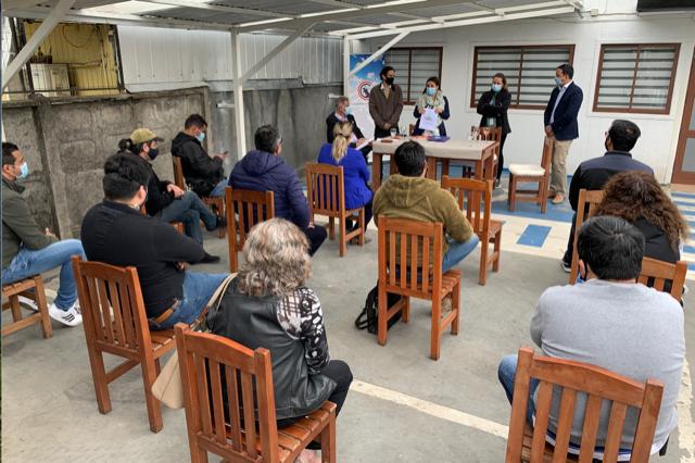 Chillán Viejo: Salud inicia proceso de inducción en protocolo sanitario a comerciantes gastronómicos