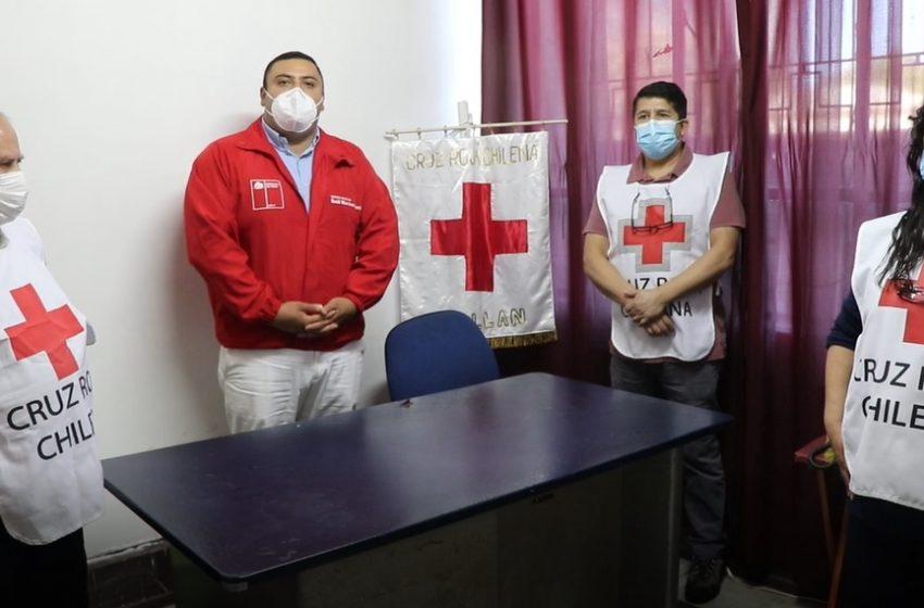 Cruz Roja filial Chillán desplegará voluntarios para el Plebiscito del 25 de octubre