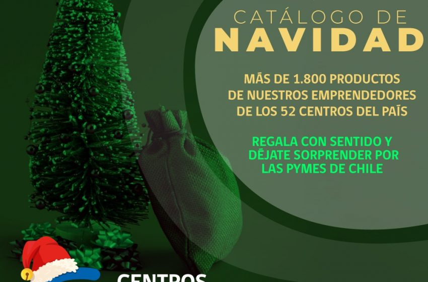 SERCOTEC crea catálogo de navidad online para reactivar a las pymes
