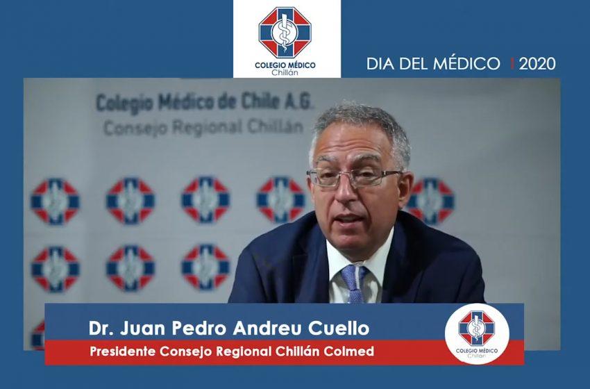 Colmed Chillán realizó la primera celebración en línea del Día del Médico