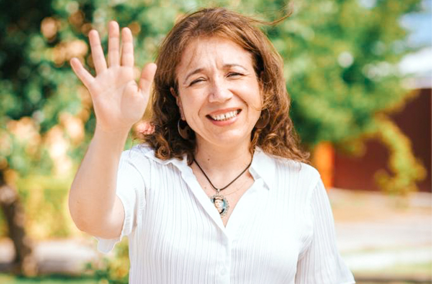 Elga Garrido, candidata a Constituyente por Ñuble