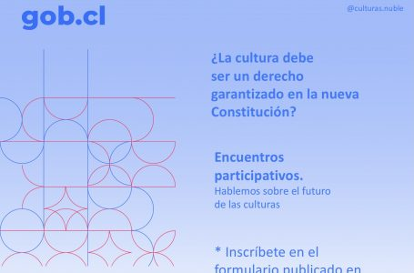 Consejo Regional de las Culturas, las Artes y el Patrimonio de Ñuble inicia proceso participativo de cara a una nueva Constitución.