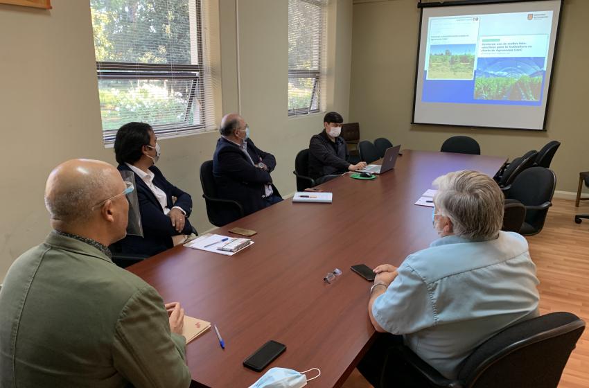 Universidad de Concepción aportará al desarrollo de la Región de Ñuble