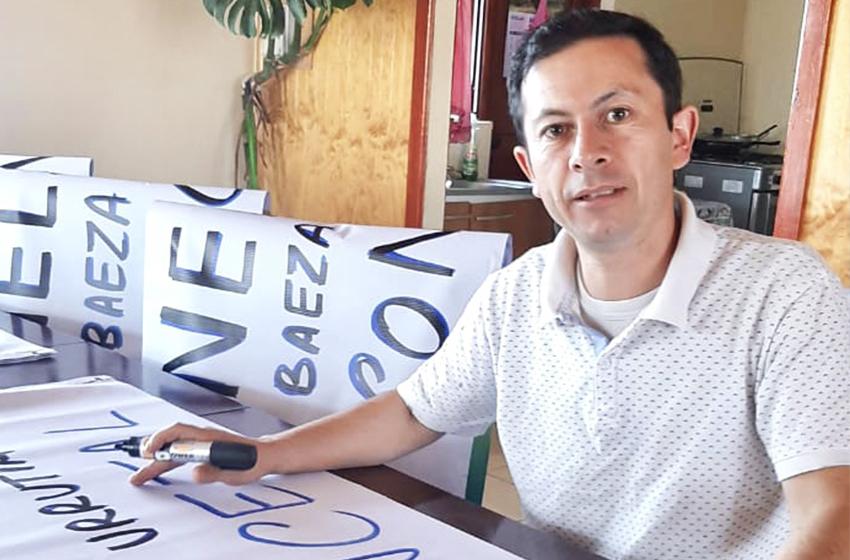Nelson  Baeza Urrutia, un dirigente vecinal independiente que se postula como candidato a Concejal por Chillán