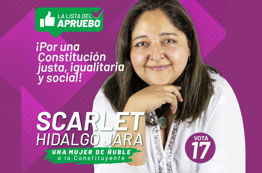 Scarlet Hidalgo Jara, una mujer de Ñuble a la Constituyente