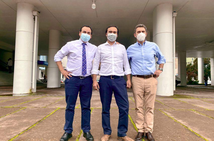 Portada digital: Óscar Crisóstomo, Camilo Benavente y Jorge del Pozo «Un trío ganador para Ñuble»