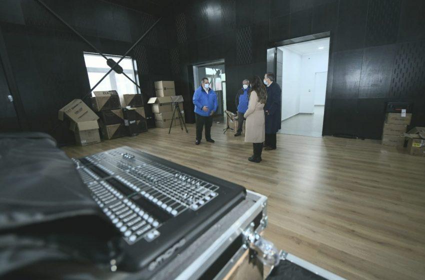 Centro Cultural Municipal de Chillán termina obra en 100% para acoger a artistas de la zona
