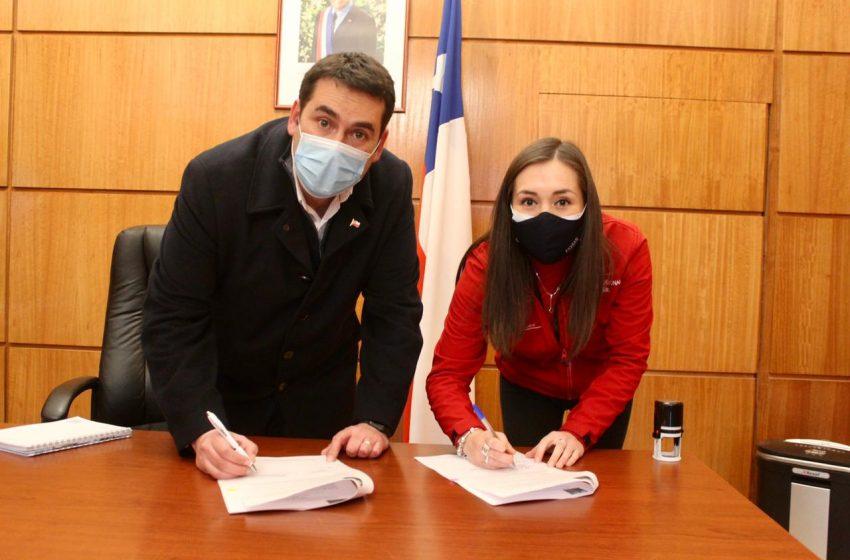 Intendente y FOSIS firman convenio de transferencia de recursos por más de $2 mil millones para apoyar a emprendedores