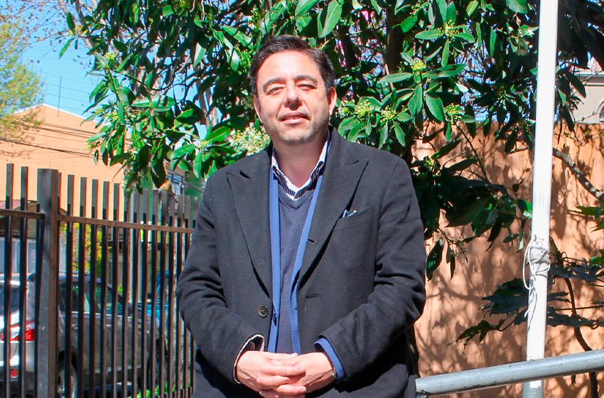 Marco Aguilera Marchant, director del Daem Chillán