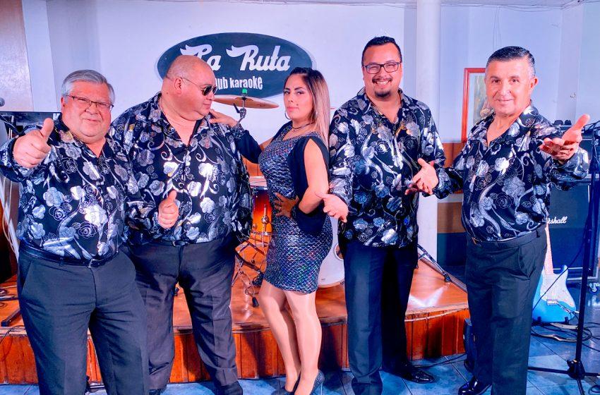 Pamela y los Crack, destacada agrupación musical que cumple un año acompañando a la gente de Ñuble